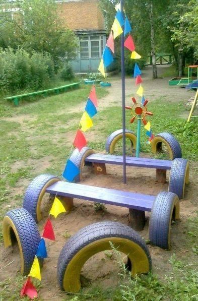Juegos Para Areas Abiertas Reciclaje De Llantas