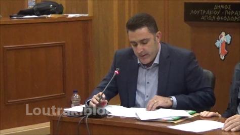 Τάσος Σακελλαρίου: H εισήγηση για τον Προϋπολογισμό του Δήμου για το 2019 (video)
