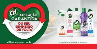CIF marca de produtos de limpeza lança ação para reembolsar os clientes que estiverem insatisfeitos