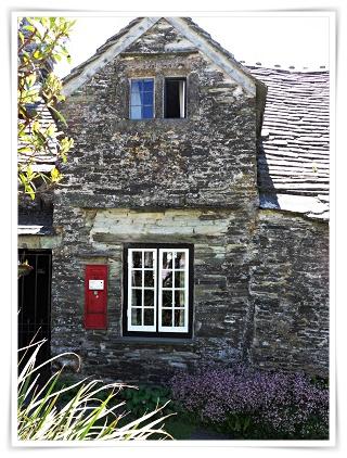 Victorian Post Box, Tintagel, Cornwall