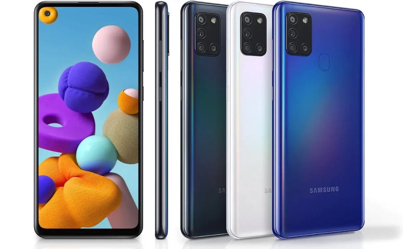 Cara Hard Reset Samsung Galaxy A21S