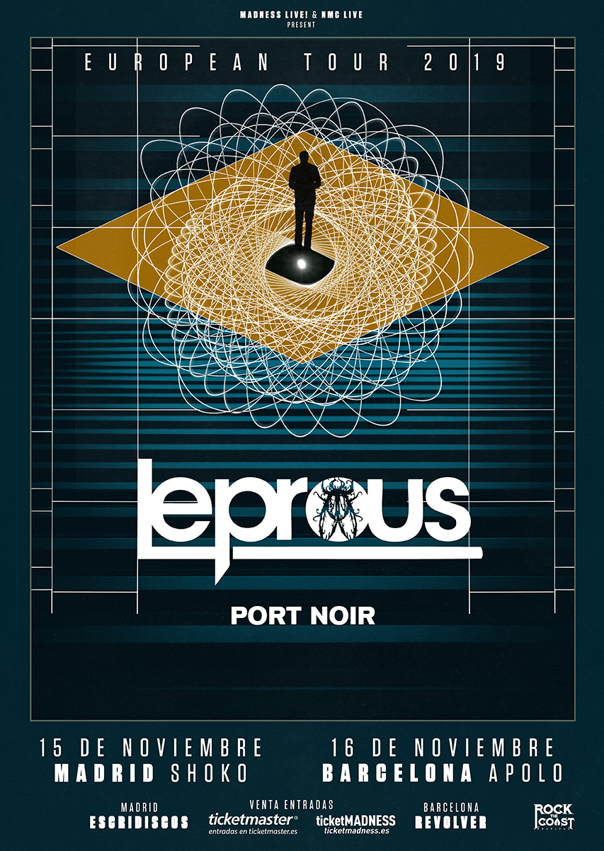 Leprous Tour cover