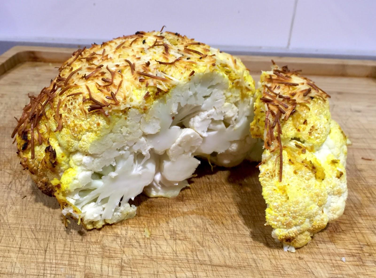 Dulce muffin coliflor especiada al horno for Q cenar esta noche