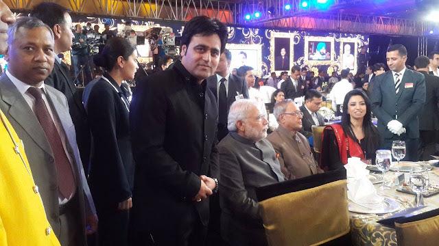 Sanjeev Juneja with Narendra Modi - Memories