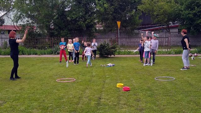 Dzień Dziecka w Szkole Filialnej w Lechówku