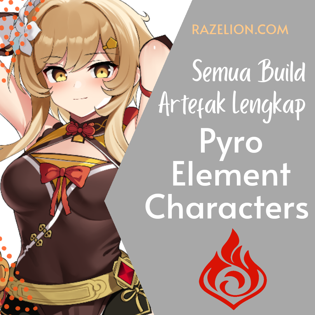 Artefact Build All Pyro Characters