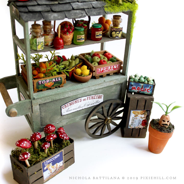 Magical Fruit Stand - Nichola Battilana - pixiehill.com