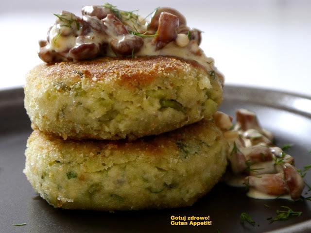 Kotleciki  z bobu w sosie kurkowym - Czytaj więcej »