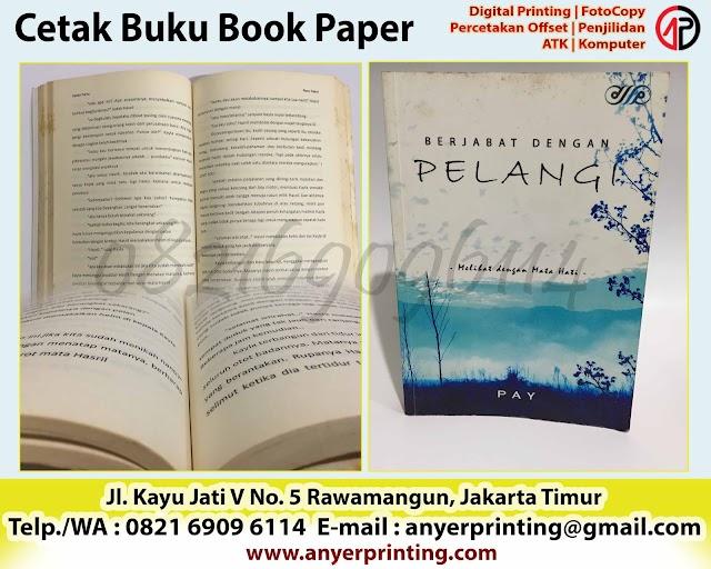 Harga Cetak Buku Bookpaper Satuan Rawamangun