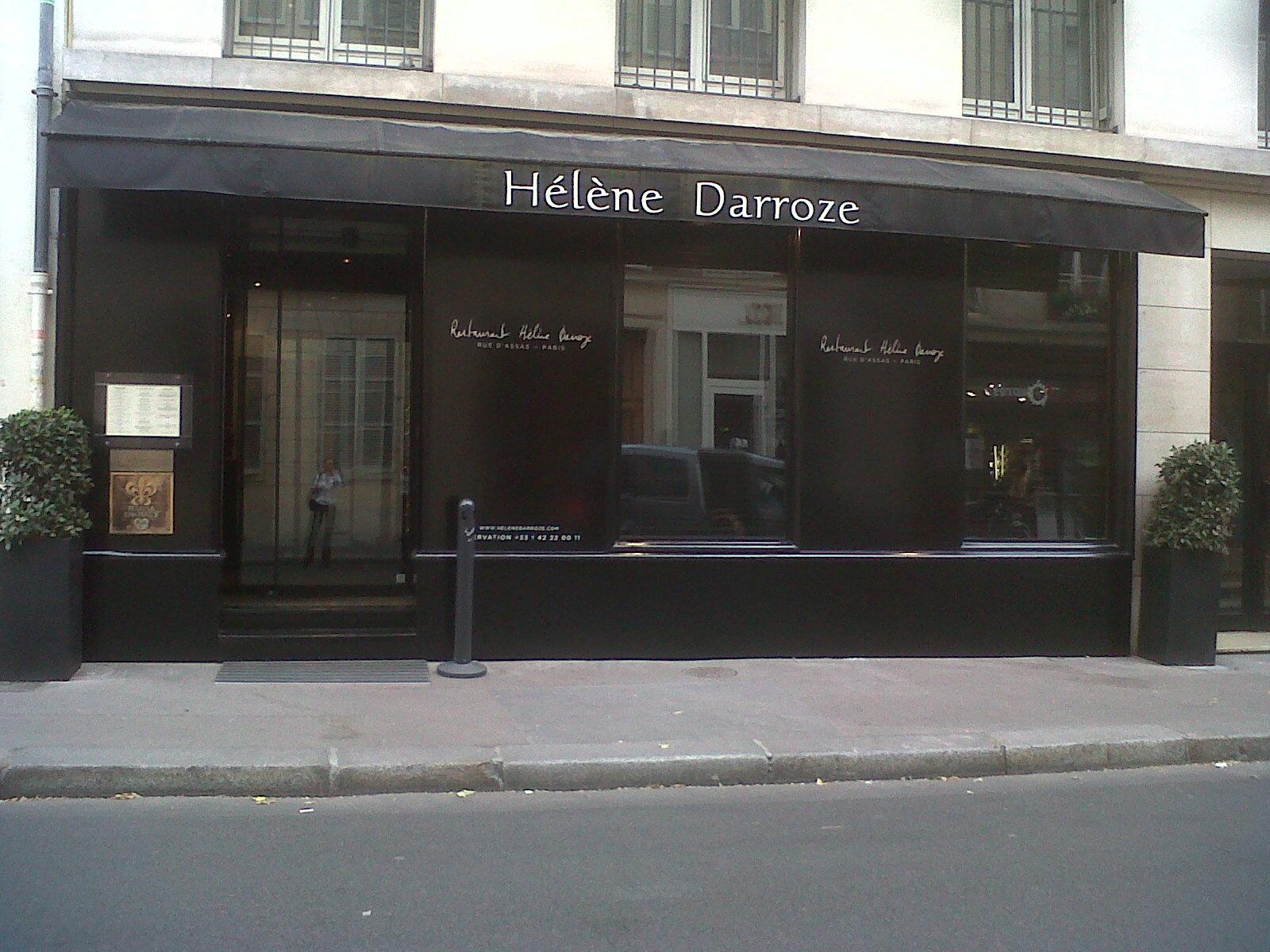Diners A Paris La Salle A Manger D Helene Darroze Merci Helene