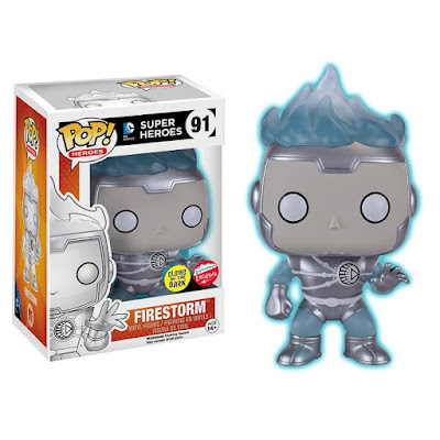 San Diego Comic-Con 2016 Exclusive DC Comics Glow in the Dark Variant White Lantern Firestorm Pop! Vinyl Figure by Funko