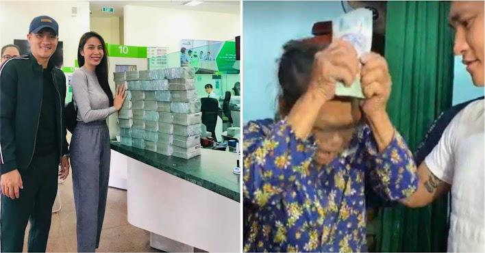 """Thủy tiên bỏ hơn 3 Tỷ tiền túi ra làm từ thiện, Công Vinh tuyên bố """" Bỏ Vợ """""""