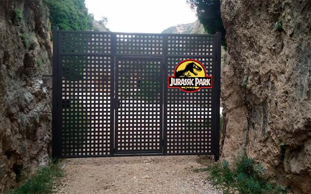 Inaugurado hoy el Parque Jurásico en Beceite, Beseit
