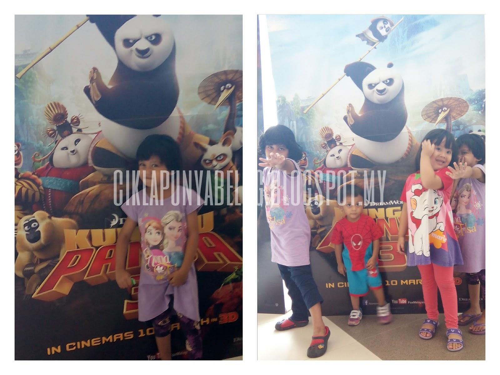Review filem : Kungfu Panda 3.