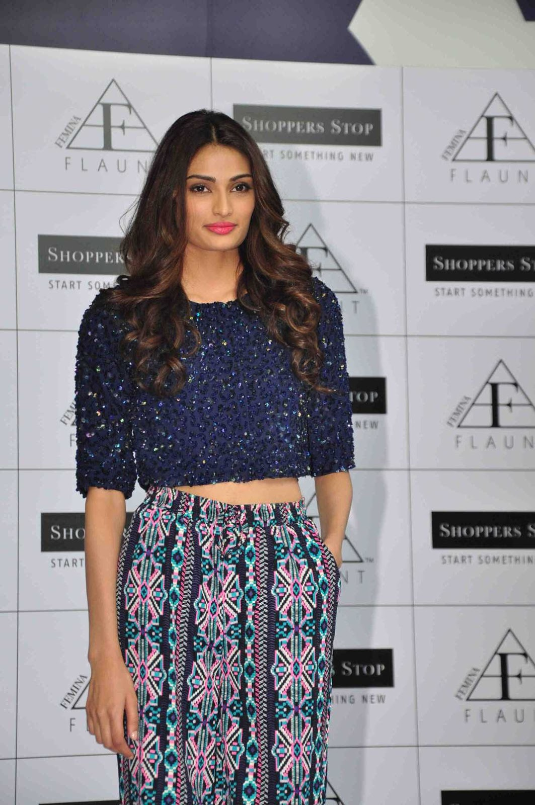 Athiya Shetty Stills At Shoppers Stop Femina Flaunt ...