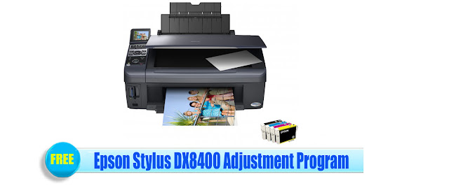 Epson Stylus DX8400 Adjustment Program