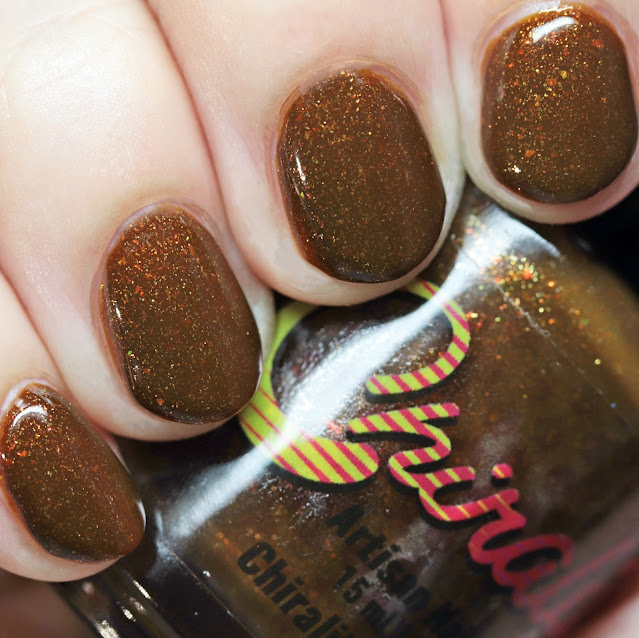 Chirality Nail Lacquer Eye of the Tiger