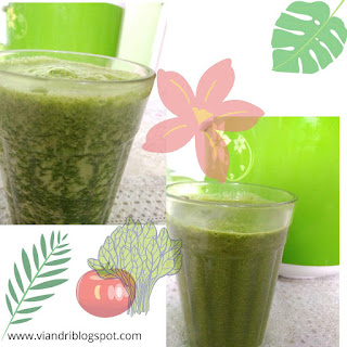 smoothies bayam