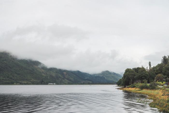 Le Loch Lomond en Ecosse