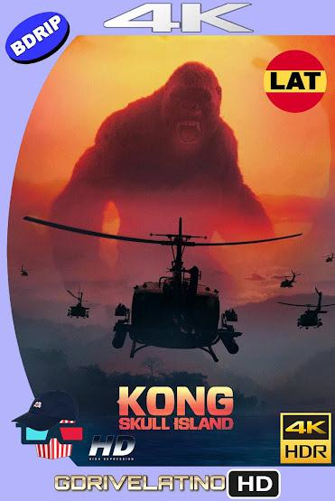 Kong: La Isla Calavera (2017) BDRip 4K HDR Latino-Ingles MKV