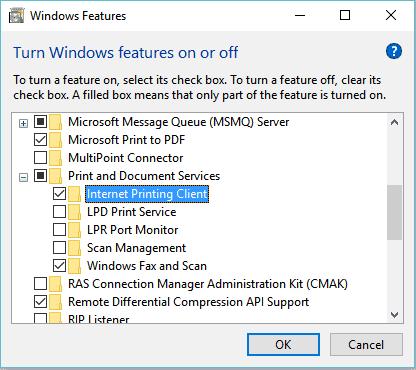 Hapus fitur tidak penting di windows 10 32bit