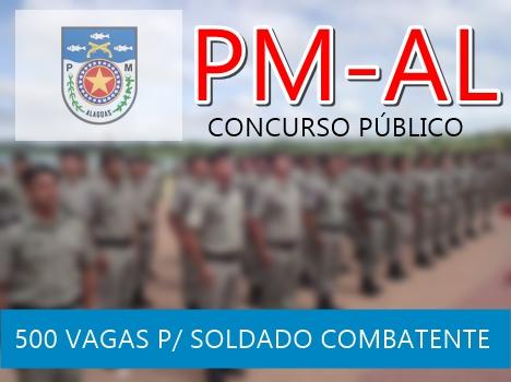 Edital Concurso PM-AL SOLDADO COMBATENTE