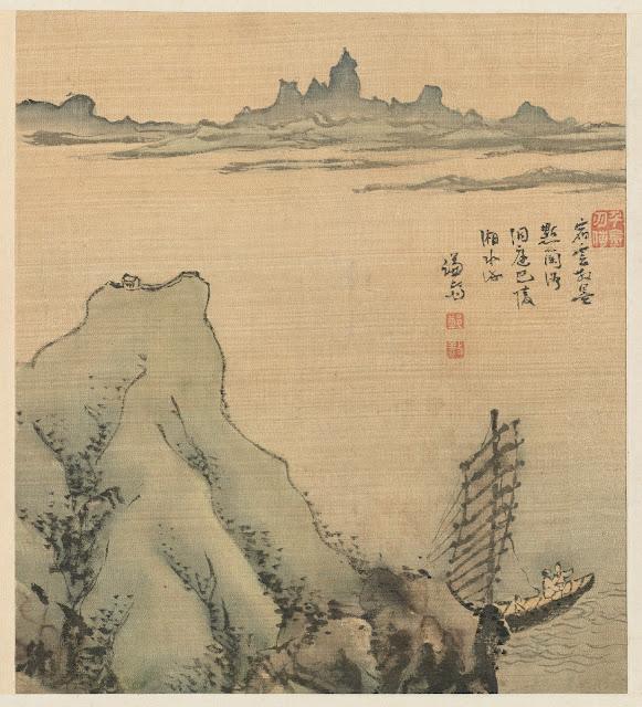 겸재(謙齋) 정선(鄭敾, 1676~1759) 경교명승첩(京郊名勝帖) 행주일도
