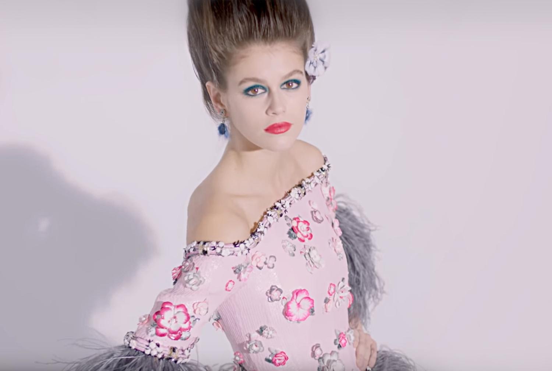 Makeup looks at fashion runway shows from spring/summer 2019 season