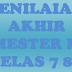 LENGKAP SOAL UAS QUR'AN HADIST MTS SEMESTER 1 KELAS 7 8 9 TAHUN 2017