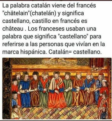 catalán = castellano, Cathelongne, Castelongne