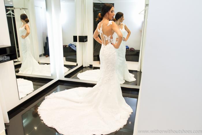 Influencer valenciana Moda Top + Vestido de novia favorito