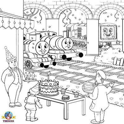 coloring pages of thomas the tank | July 2012 | Train Thomas the tank engine Friends free ...