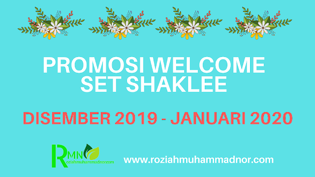 PROMOSI WELCOME SET SHAKLEE