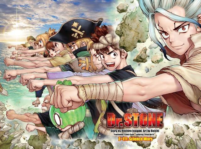جميع حلقات انمي Dr. Stone: Stone Wars مترجمة كاملة