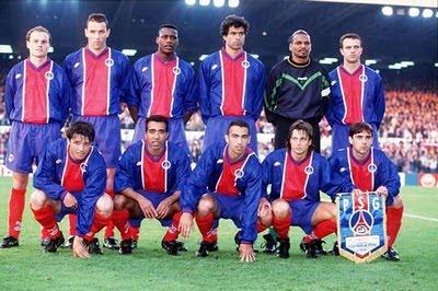 Champions League - Paris Saint-Germain de 1994/95
