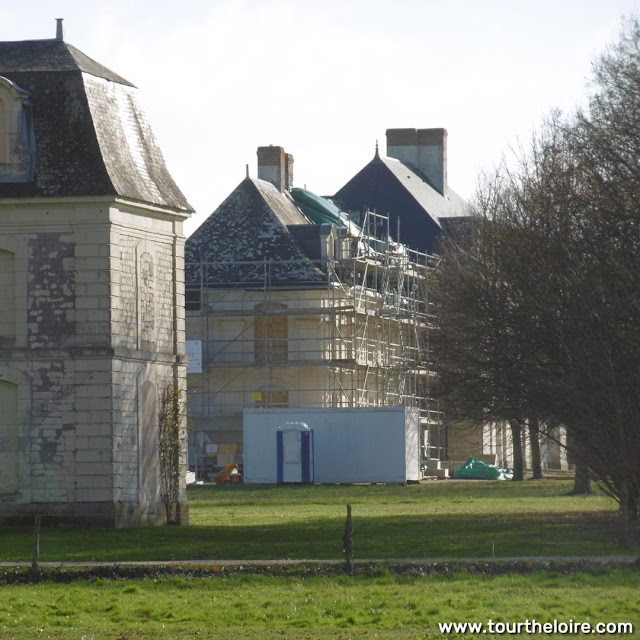 Chateau d'Argenson, Indre et Loire, France. Photo by Loire Valley Time Travel.