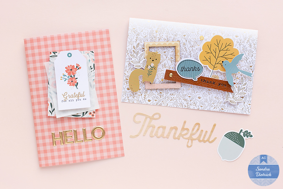 4 Happy Cards with The Avenue Collection