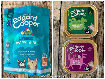 What's In The Box ©BionicBasil® Gus & Bella Spring Kitten Box  Edgard Cooper Kibble and Tasty Wet Food