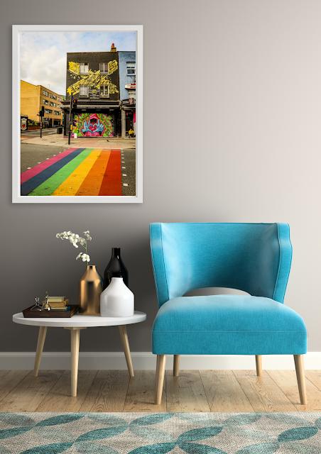 Fine art print London is Pride by Mandy Charlton, photographer