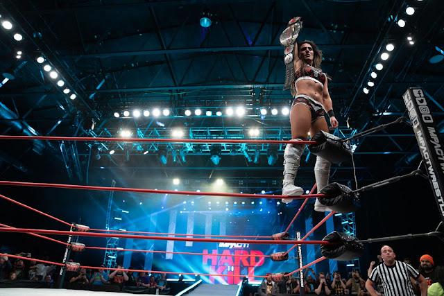 IMPACT Wrestling pode unificar títulos masculino e feminino
