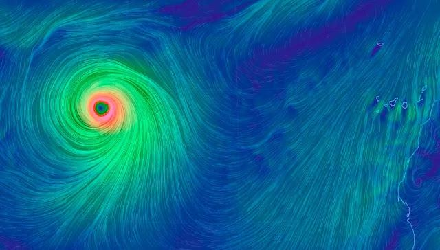Canarias no se verá afectada por huracán Lorenzo, según las previsiones