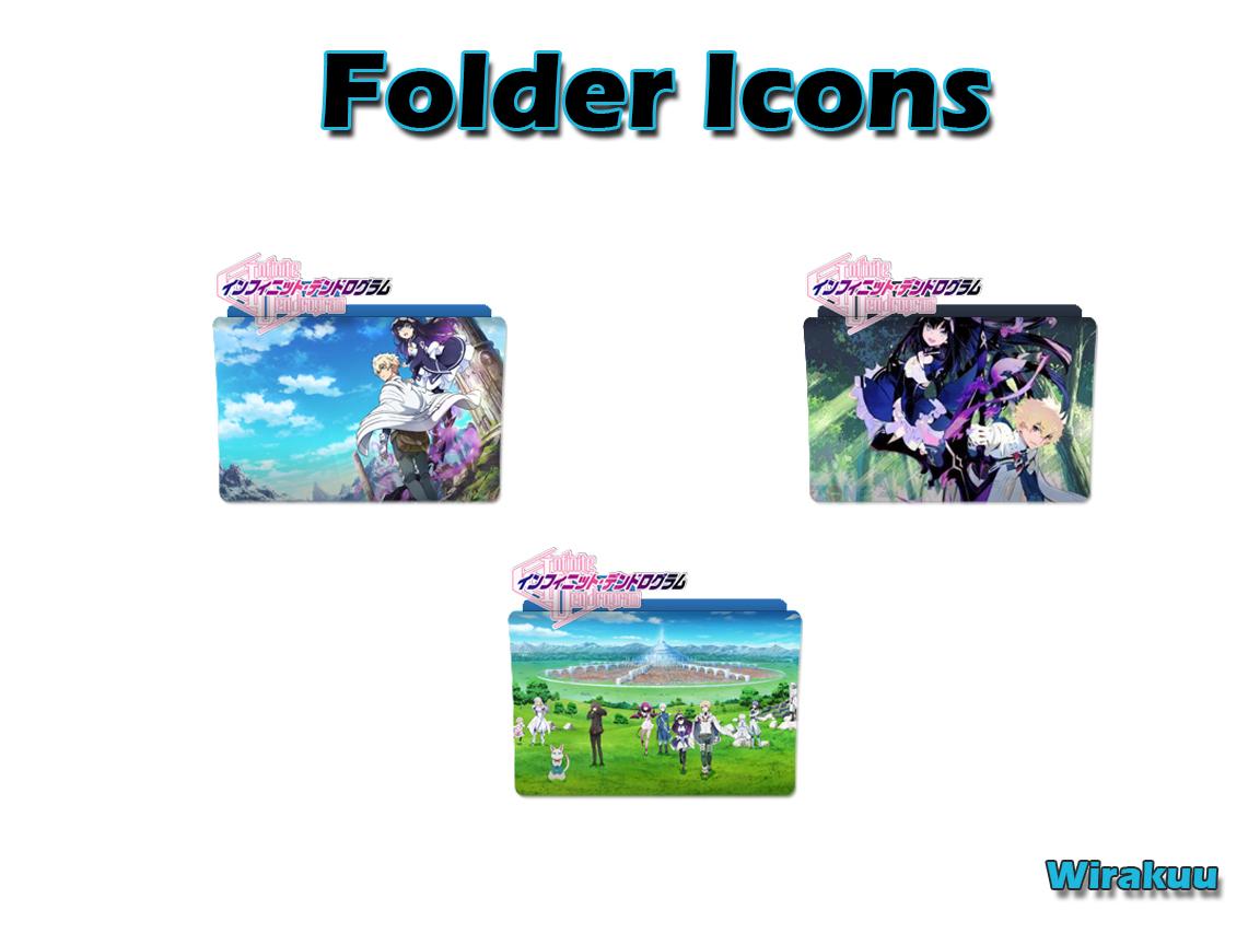 Download Folder Icons Anime Infinite Dendrogram