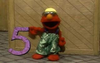 Elmo sings Elmo's Jive Five. Sesame Street The Best of Elmo