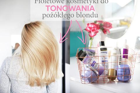 Fioletowe szampony i odżywki ochładzające pożółkły blond - 8 linii wartych wypróbowania - czytaj dalej »
