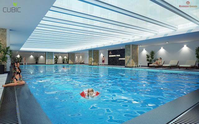 Bể bơi chung cư 349 Vũ Tông Phan