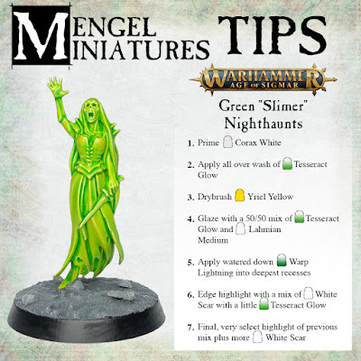 Green Banshee Step by Step Tutorial