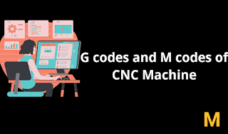 G codes and M codes of CNC machine with PDF