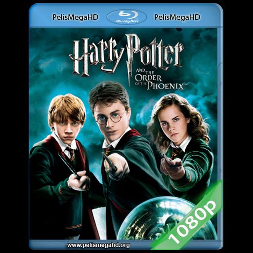 HARRY POTTER Y LA ORDEN DEL FÉNIX (2007) FULL 1080P HD MKV ESPAÑOL LATINO