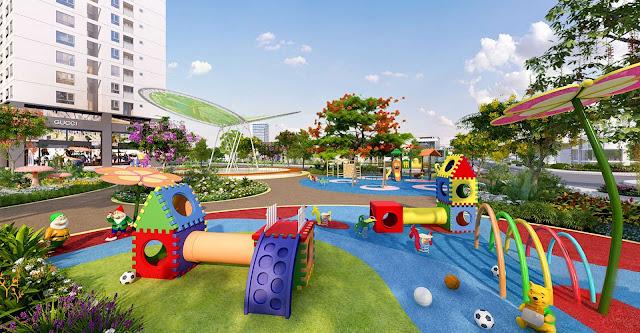 Phối cảnh khu vui chơi dành cho trẻ em