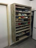 ideas para organizar el calzado en estanterias